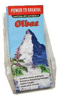 Olbas Pamphlets, Consumer Education Display – 100-Count