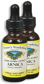 Arnica Extract, 1 fl oz / 30 ml each (Nature's Wonderland)