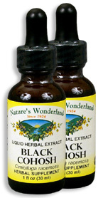 Black Cohosh Extract, 1 fl oz / 30 ml each (Nature's Wonderland)
