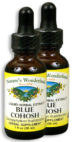 Blue Cohosh Extract, 1 fl oz / 30 ml each (Nature's Wonderland)