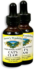 Cat's Claw Bark Liquid Extract, 1 fl oz / 30 ml each (Nature's Wonderland)