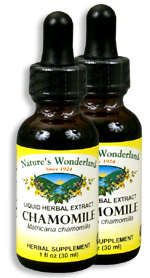 Chamomile Extract, 1 fl oz / 30 ml each  (Nature's Wonderland)