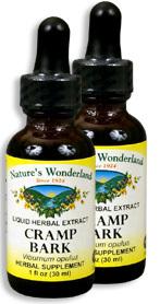 Cramp Bark Extract, 1 fl oz / 30 ml each (Nature's Wonderland)