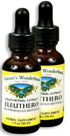 Eleuthero Root Extract, 1 fl oz / 30 ml each (Nature's Wonderland)