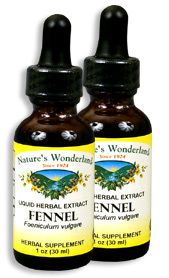 Fennel Extract, 1 fl oz / 30 ml each (Nature's Wonderland)