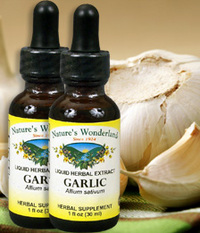 Garlic Liquid Extract, 1 fl oz  / 30 ml each (Nature's Wonderland)