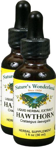 Hawthorn Berry Extract, 1 fl oz  / 30 ml each (Nature's Wonderland)