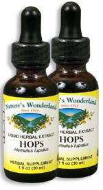 Hops Extract, 1 fl oz / 30 ml each (Nature's Wonderland)
