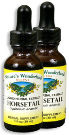 Horsetail Extract, 1 fl oz  / 30 ml each (Nature's Wonderland)