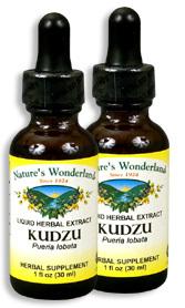 Kudzu Extract, 1 fl oz / 30 ml each (Nature's Wonderland)