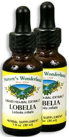 Lobelia Extract, 1 fl oz / 30 ml each (Nature's Wonderland)