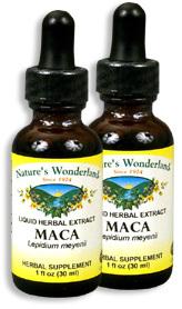 Maca Root Extract, 1 fl oz / 30 ml each (Nature's Wonderland)