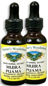 Muira Puama Extract, 1 fl oz / 30 ml each (Nature's Wonderland)