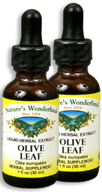 Olive Leaf Extract, 1 fl oz / 30 ml each (Nature's Wonderland)