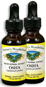 Osha Root Extract, 1 fl oz / 30 ml each (Nature's Wonderland)