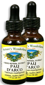 Pau D'Arco Bark Extract, 1 fl oz / 30 ml each (Nature's Wonderland)