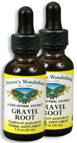 Gravel Root Extract, 1 fl oz / 30 ml each (Nature's Wonderland)