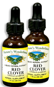 Red Clover Liquid Extract, 1 fl oz / 30 ml each (Nature's Wonderland)
