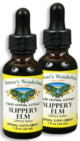 Slippery Elm Extract, 1 fl oz / 30 ml each (Nature's Wonderland)