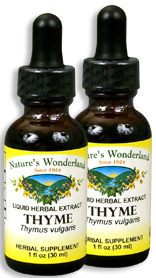 Thyme Extract, 1 fl oz / 30 ml each (Nature's Wonderland)