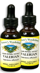 Valerian Extract, 1 fl oz / 30 ml each (Nature's Wonderland)