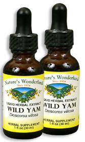 Wild Yam Root Extract, 1 fl oz / 30 ml each (Nature's Wonderland)