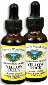 Yellow Dock Root Extract, 1 fl oz / 30 ml each (Nature's Wonderland)