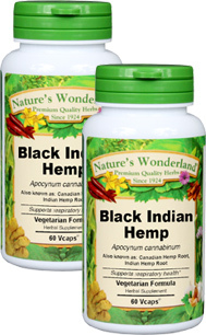 info nywjas Botanical name black indian hemp root.