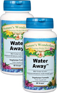 Water-Away™ - 475mg, 60 Vcaps™ each  (Nature's Wonderland)