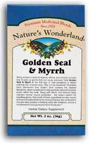 Golden Seal & Myrrh Powder,  2 oz each (Nature's Wonderland)