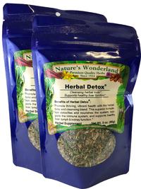 Herbal Detox®™ Tea,  3 oz each (Nature's Wonderland)