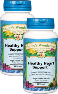 Healthy Heart Support™ - 525 mg, 60 Vcaps™ each (Nature's Wonderland)