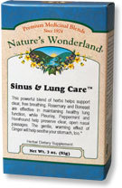 Sinus & Lung Care™ Tea, 3 oz each (Nature's Wonderland)
