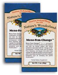 Meno-Fem Change™ Tea, 3 oz each (Nature's Wonderland)