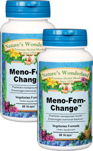 Meno-Fem Change™ - 500 mg, 60 Vcaps™ each (Nature's Wonderland)