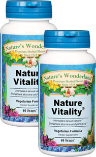 Nature Vitality® - 525 mg, 60 Veg Capsules™ each (Nature's Wonderland)
