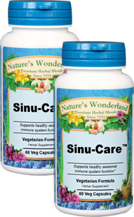 Sinu-Care™ - 525 mg, 60 Veg Capsules each  (Nature's Wonderland)