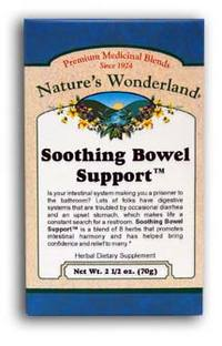 Soothing Bowel Support™ Tea,  2 12/ oz each (Nature's Wonderland)