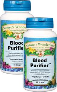 Blood Purifier™ - 450 mg, 60 Vcaps™ each (Nature's Wonderland)