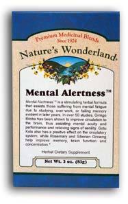 Mental Alertness™ Tea, 3 oz each (Nature's Wonderland)