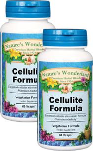 Cellulite Formula - 600 mg, 60 Vcaps™ each (Nature's Wonderland)