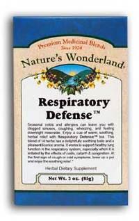 Respiratory Defense™ Tea,  3 oz each (Nature's Wonderland)