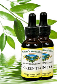 Green Tea Extract, 1 fl oz / 30 ml each (Nature's Wonderland)