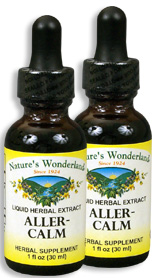 Aller Calm Liquid Extract, 1 fl oz / 30 ml each (Nature's Wonderland)