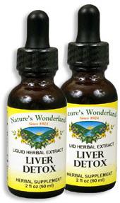 Liver Detox Extract, 1 fl oz / 30 ml each (Nature's Wonderland)