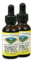 Women's Energy Balance, 1 fl oz / 30 ml each (Nature's Wonderland)