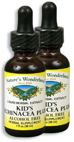 Kid's Echinacea Plus, 1 fl oz / 30 ml each (Nature's Wonderland)