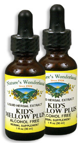 Kid's Mellow Plus, 1 fl oz / 30 ml each (Nature's Wonderland)