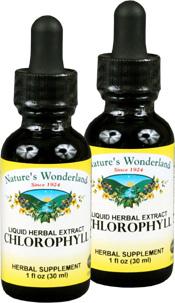 Liquid Chlorophyll, 1 fl oz / 30ml each (Nature's Wonderland)