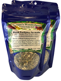 Blood Purifying Formula Tea, 4 oz each (Nature's Wonderland)